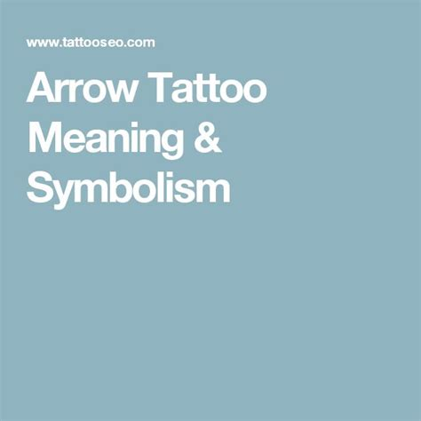 what does an arrow tattoo mean best 25 arrow meanings ideas on