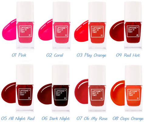 Harga Tony Moly Lip Tint Cherry Pink tony moly liptone get it tint review pink ming the