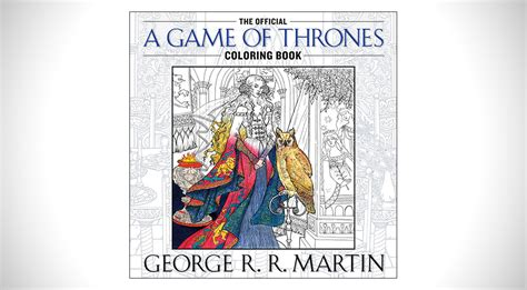 thrones coloring book official official of thrones coloring book hiconsumption