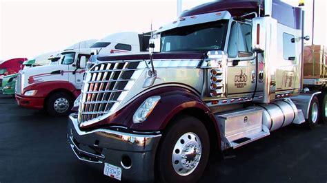 international semi international lonestar trucks youtube