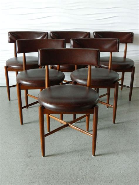 G Plan Teak Dining Chairs by Ib Kofod Larsen G Plan Teak Dining Chairs At 1stdibs