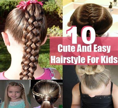 cute hairstyles kids   easy hairstyles kids