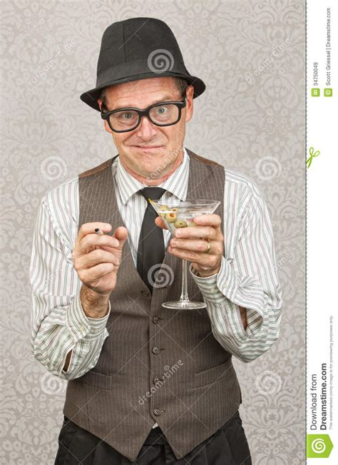 man holding martini drunk man with martini royalty free stock images image