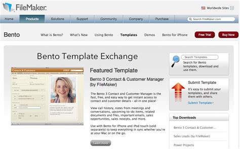 bento templates bento template exchange exceeds 200 000 downloads