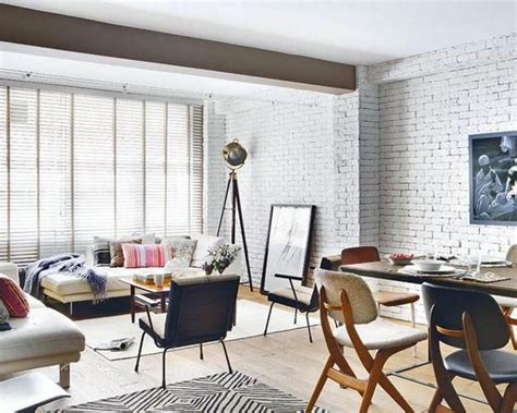 White Brick Wall Living Room by 33 Modern Interior Design Ideas Emphasizing White Brick