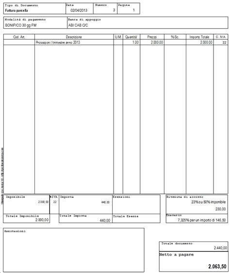 di commerico registrazione fatture professionisti contabilita facile