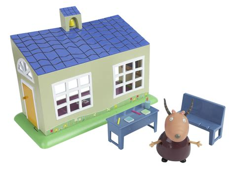 peppa pig house playset peppa pig s funtime playset school house review compare prices buy online