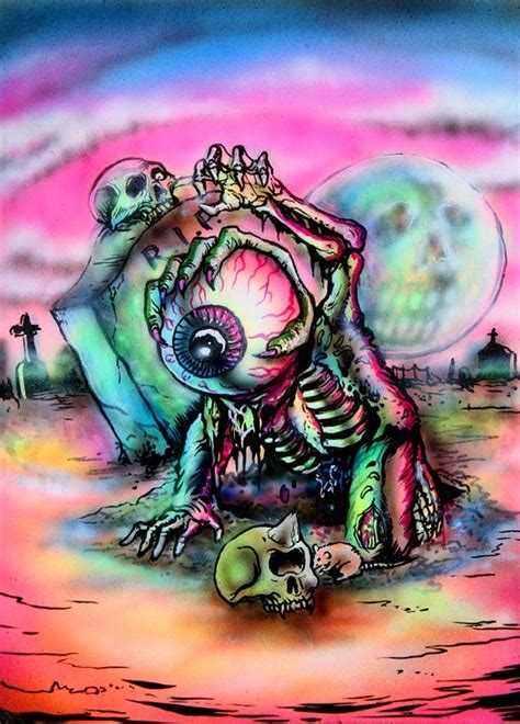 tattoo machine zombie cotton candy machine zombie zack by l amour supreme