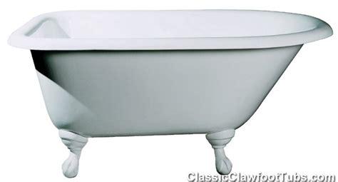 48 Inch Clawfoot Tub 48 quot rolled cast iron clawfoot tub classic clawfoot tub
