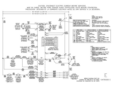 Electrolux Eigd50liw0 Electric Dryer Schematic The