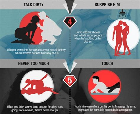 how to impress your man in the bedroom infographic 10 creative ways to impress your partner in