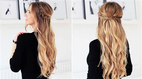 Channel Luxy Box fishtail braid half updo for medium and hair