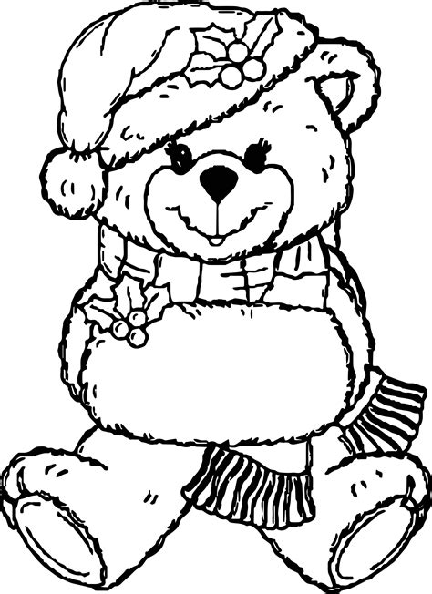 snow bear coloring page snow girl bear toy coloring page wecoloringpage