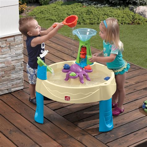 whirlpool water table sand water play step2