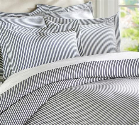 pinstripe comforter set 1000 images about ticking stripe duvet cover on