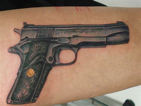 1911 tattoo designs pin colt tattoos on