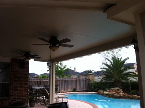 Patio Covers With Ceiling Fans Patio Cover With Ceiling Fans Lone Patio Builders