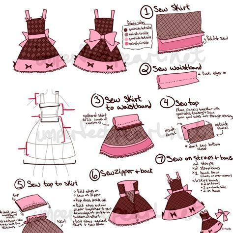 pattern jsk lolita jsk sewing tutorial crafts and things pinterest
