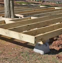 deck build how to build a fabulous diy floating deck the garden glove