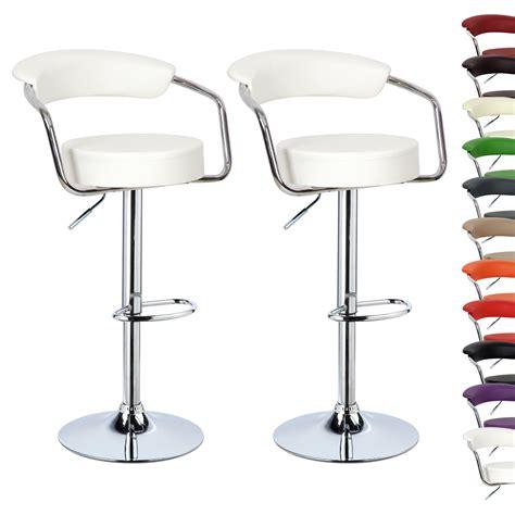breakfast bar stools leather barstools kitchen stool 1 2 x bar stools faux leather kitchen chrome stool
