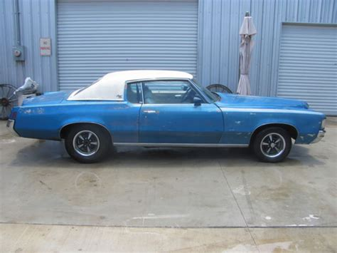 blue book used cars values 1972 pontiac grand prix seat position control seller of classic cars 1972 pontiac grand prix blue white