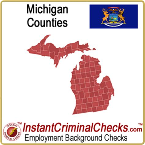 Free Criminal Background Check Michigan Michigan County Criminal Background Checks And Mi Court