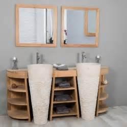 meuble de salle de bain en teck pas cher meubles salle de