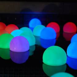 mood light garden deco balls inground pool lights