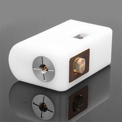 Triphasic White Radiance Mask 1 Box 8 Masker authentic vgme mask white abs 8ml bf squonk mechanical box mod