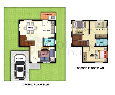 house models with plans metrogate meycauayan ii house and lot in bulacan by moldex realty