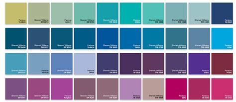 Shades Of Blue Chart | shades of blue chart www imgkid com the image kid has it