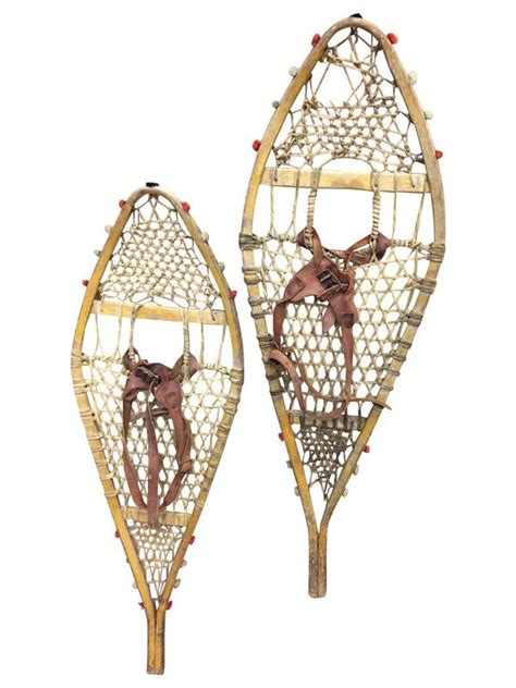 Antique American Indian Children Snowshoes Antique American Indian Snowshoes Vintagewinter
