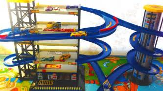 car garage parking playset with wheels cars toys