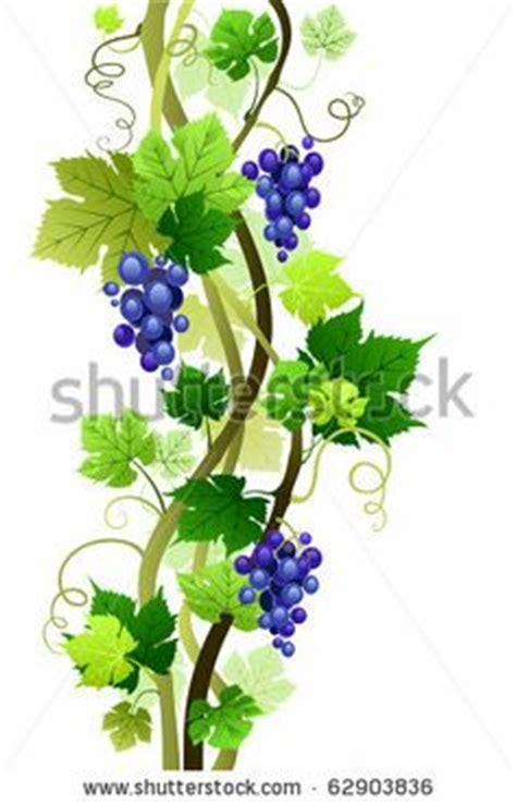 Bilder Malen Ideen 4594 by Stock Illustration Of Vector Grape Frame Patterns