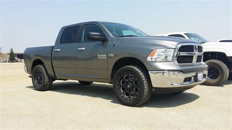 leveled ram 1500 dodge ram 1500 09 current 4wd 2 5 quot leveling kit part