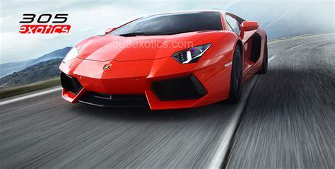 Lamborghini Rental Lamborghini Aventador Rental Miami