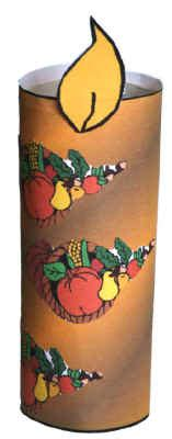 Dltk Toilet Paper Roll Crafts - thanksgiving candle craft