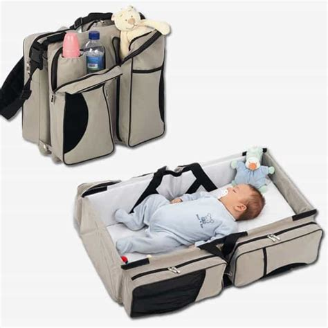 baby travel a bag that turns into a baby