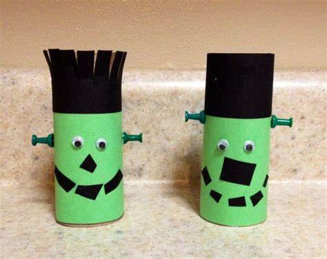 Crafts With Toilet Paper Rolls For Preschoolers - preschool craft toilet paper roll frankenstein