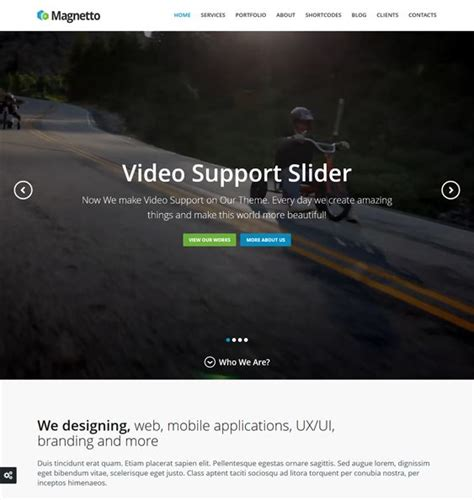 drupal theme integration tutorial 18 best 18 of the best parallax drupal themes images on