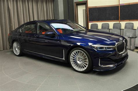 bmw alpina   tanzanite blue