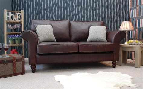 Classic Leather Sofas Uk Classic Leather Sofa By The Leather Sofa Shop Choice Of Leather Sizes