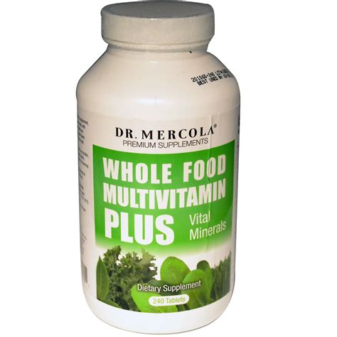 dr mercola premium supplements whole food multivitamin