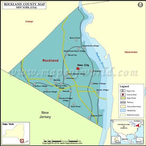 rockland county map ny rockland county map map of rockland county new york usa