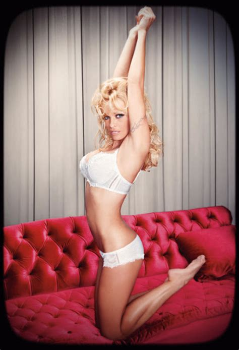 ways pamela andersons lingerie pictures