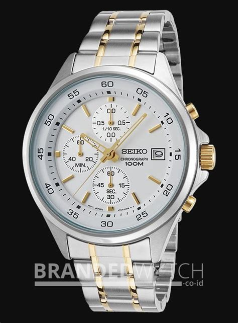 Jam Tangan Fossil Es Series Silver Silver Gold seiko sks479p1 chronograph silver gold brandedwatch co id