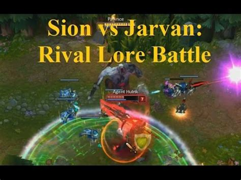 sion rework top gameplay guide sion vs jarvan