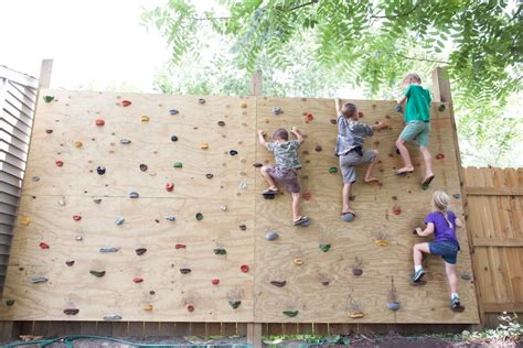 rock climbing wall for backyard diy rock climbing wall for under 100 garage gym reviews