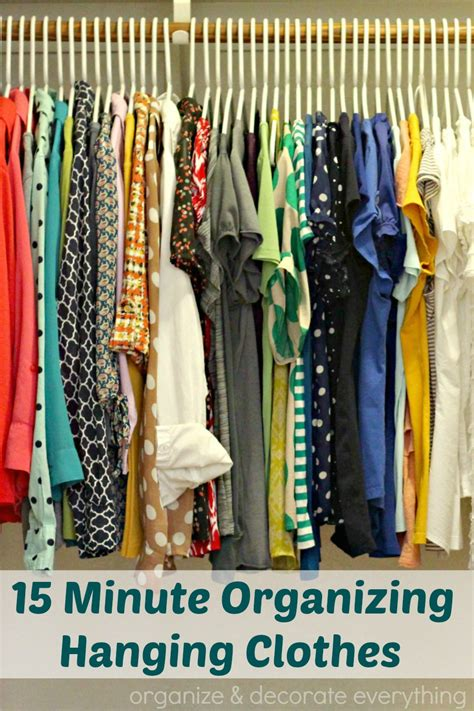 organize clothes 31 days of 15 minute organizing day 3 hanging clothes