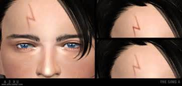 Harry Potter Scar Is Not A Lightning Bolt Harry Potter S Lightning Bolt Scar At A3ru 187 Sims 4 Updates